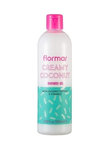 Flormar Flormar Shower Gel Creamy Coconut Duş Jeli 002 Renksiz